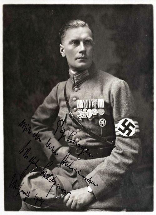 Wilhem Bruckner, Hitlersadjutant.