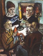 """Drei Beispiele Jüdischer und moderner Schwulen Gengenkunst (= """"Entartete(!) Kunst (?)""""). 2. : """"Les Artistes"""", Kemper museum, St. Louis ;"""