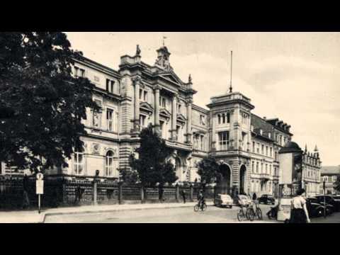Bundesverassungsgerichtsgebäude, in den 50en Jahren.