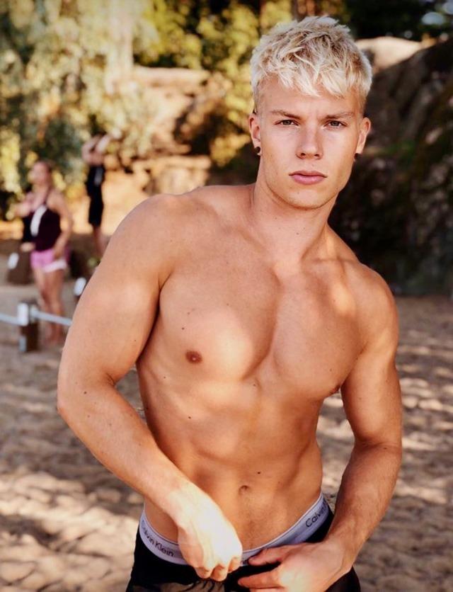 Mikael Renwall, modelo arionórdico finés.