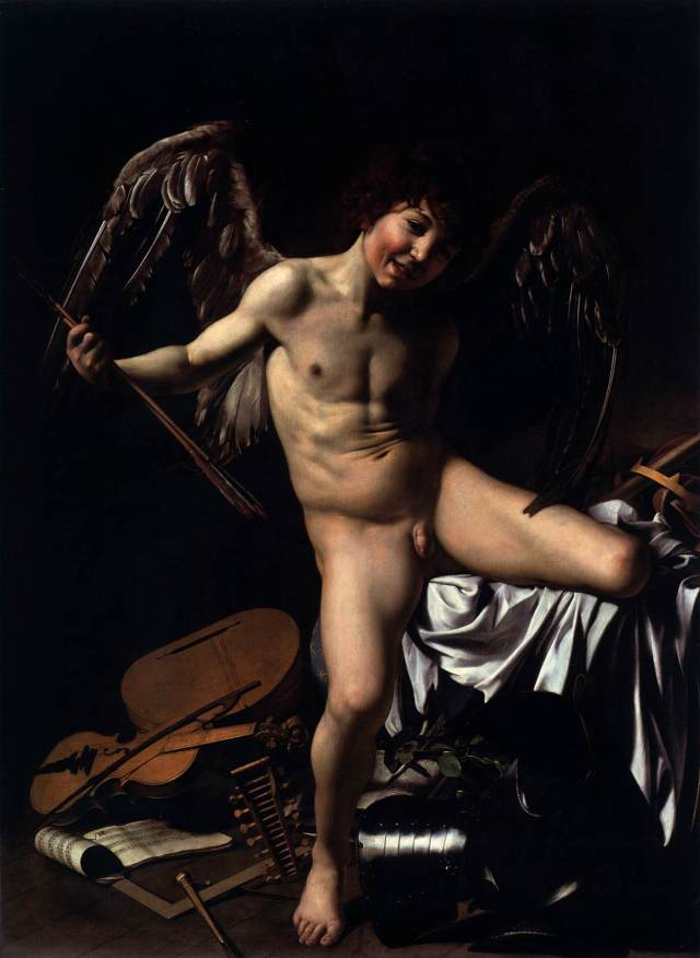 Caravaggio, Cupido.