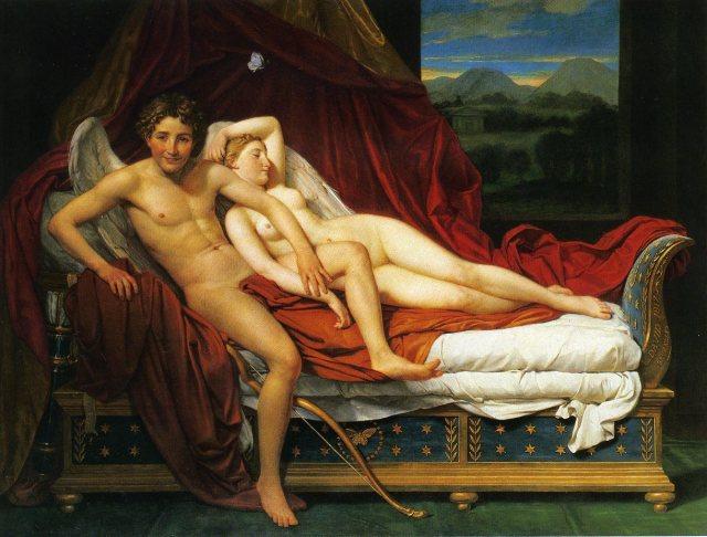 David, Cupido y Psijé