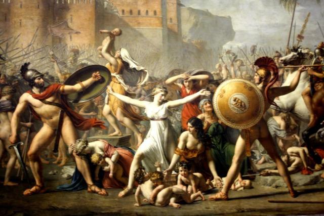 David, Rapto de las sabinas.