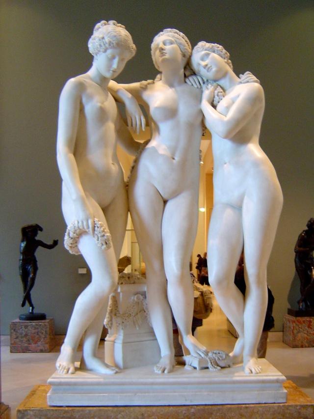 Giovanni Lorenzo Bernini, Le tre Grazie.