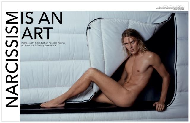 Ton Heukels, modelo alemán, posado artístico clásico europeo.