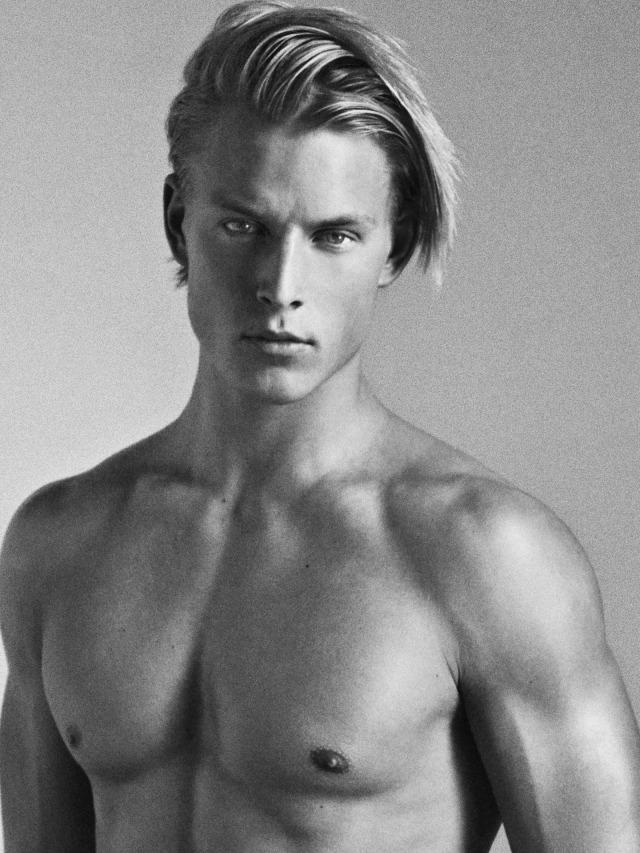 Thor Bülow, das Menschenbestengestaltesvorbild nordischer Rasse, die höchste nach Evolaesicht.