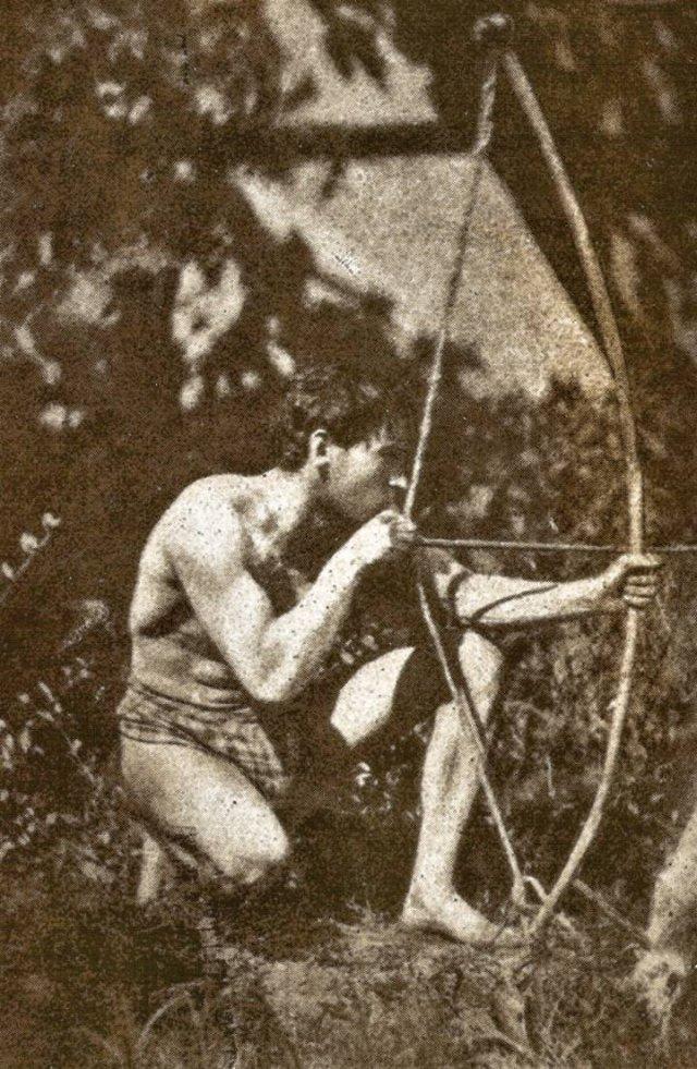 Santiago Ramón y Cajal, casi desnudo. Foto de su Legado Cajal.