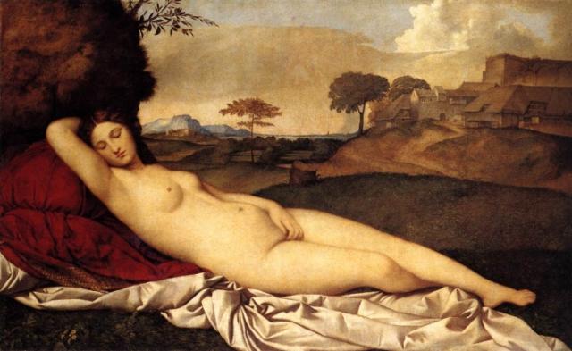 Giorgione-Venusdurmiendo