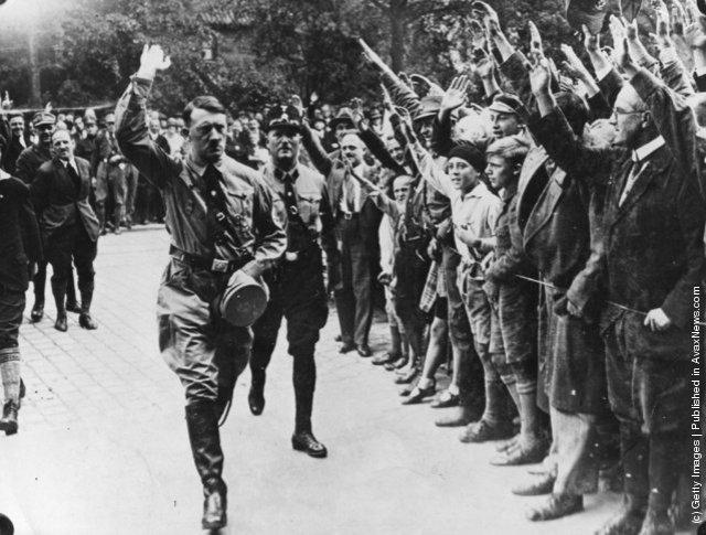 Hitlers Münchenbesuch, 1929.