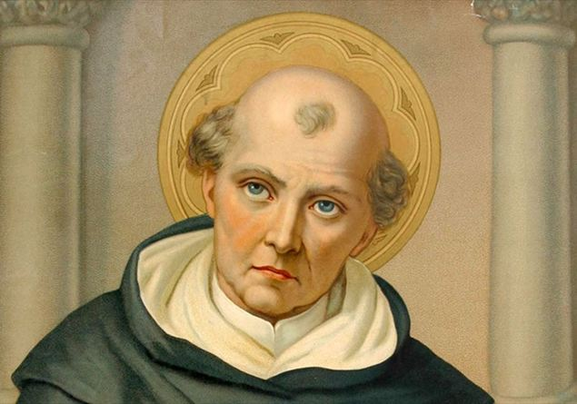 """Divus Thomas Aquini. Santo Tomás de Aquino. San Tommasso d""""Aquino. Saint Tomas d""""Aquin. Heiliger Thomas von Aquin"""