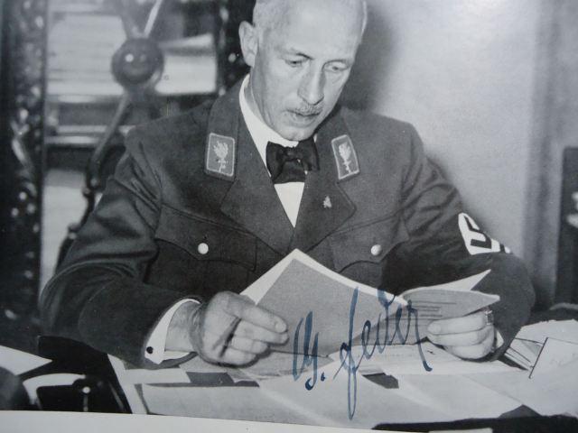 Gottfried Feder, rare Photo.