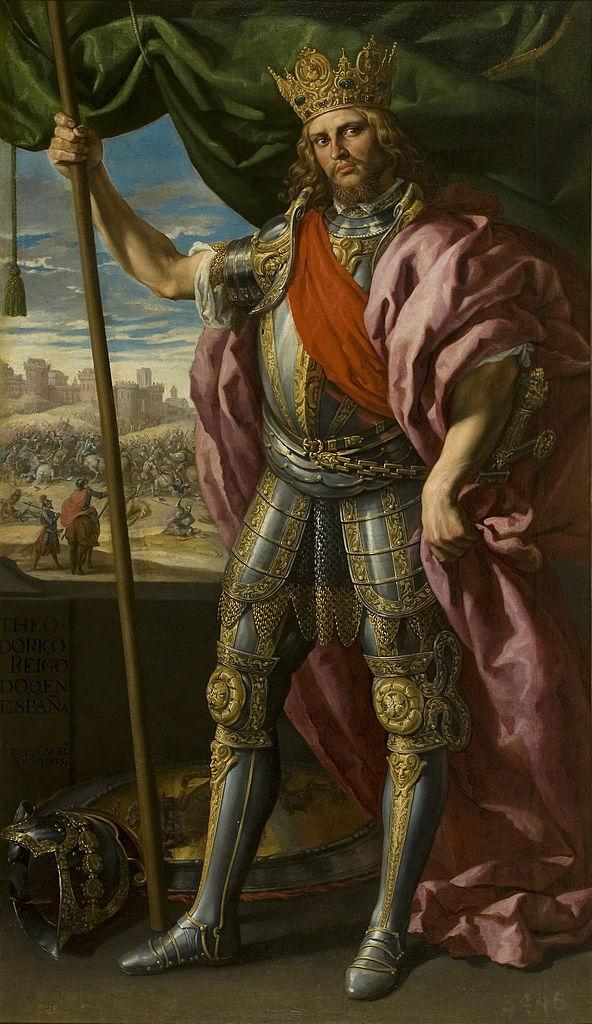 "Þjudareiks (""Rey de la [su] Raza""), latinizadoTheodericus"