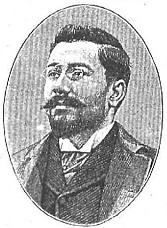 Vázquez de Mella, retrato en el periódico Nuevo Mundo.