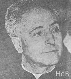 Foto del rostro de Monseñor Dr. Guerra y Campos. La fotografïa le es muy fiel, no como otras. Lástima que no tenga buena calidad visual.