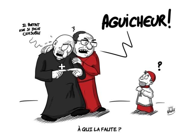Terror pederastia xampaña Iglesia católica
