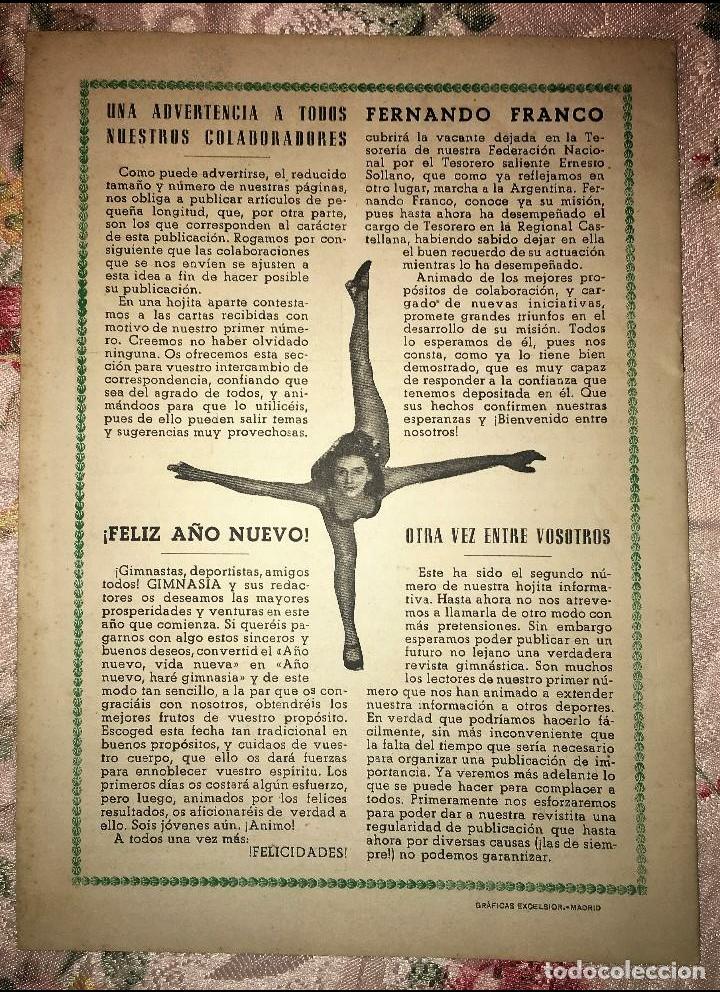 Una pägina de docja revista y nümero. Vese a una gimnasta haciendo con su cierpo y postira una cruz gamada o eswástica, quien no lo vea así creo que será porque no quiera.