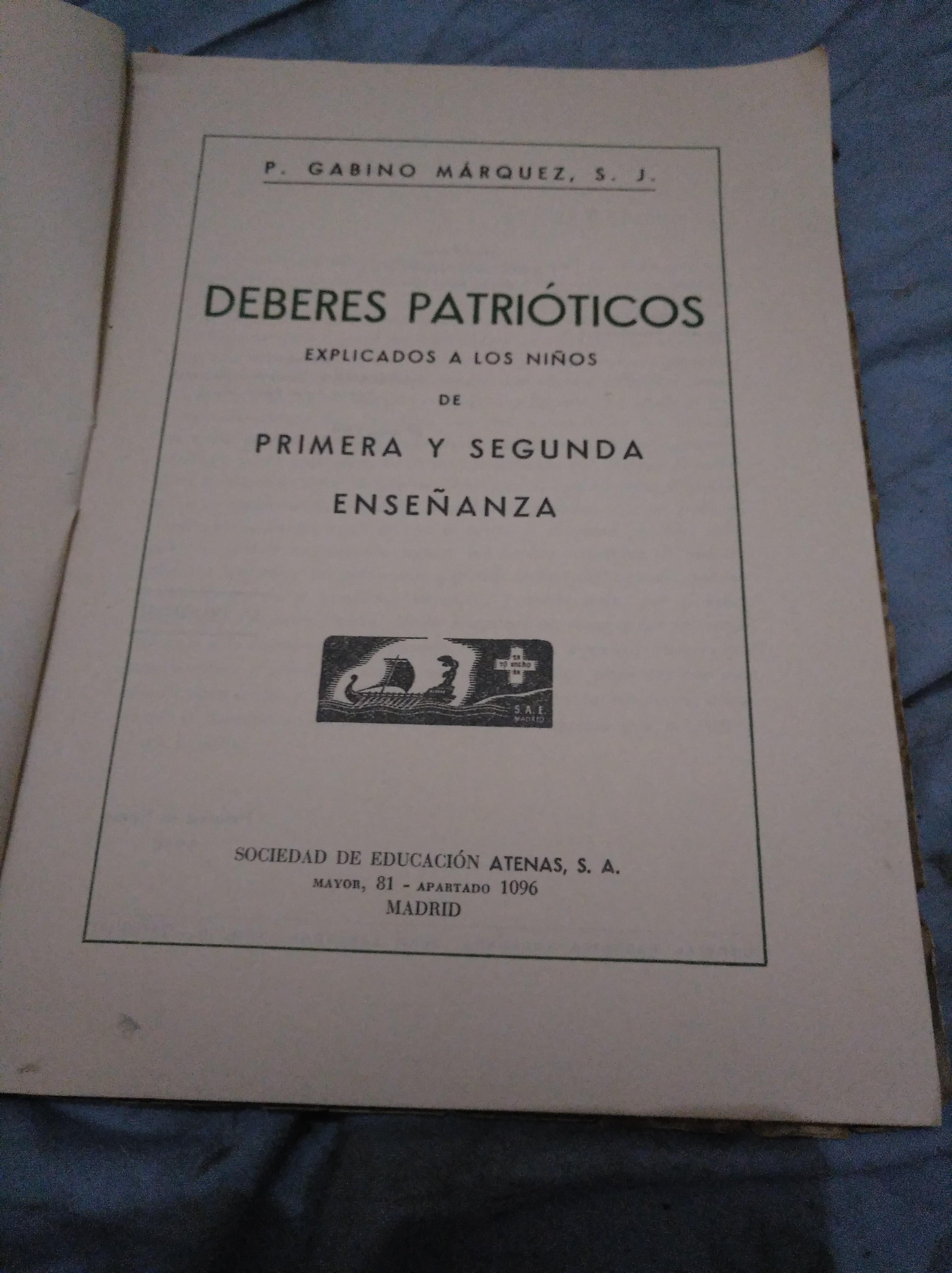 Resultado de imagen de Gabino Márquez, en su libro Deberes Patriótico